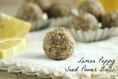 Lemon Poppy-Seed Power Balls