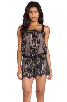 Alexis Genoa Romper in Black - now let's face it. My butt will never fit into one of these
