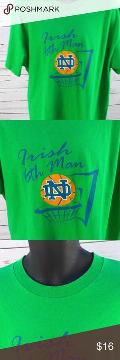 85c463f84 Notre Dame Irish 6th Man Basketball t-shirt worn but great condition Shirts  Tees -