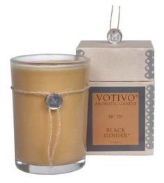 Votivo Black Ginger Candle ** Find out more about the great product at the image link. (This is an affiliate link) #ChristmasCandles