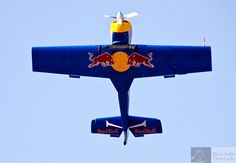 Flying Bulls - the Red Bull aerobatic team...