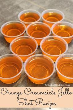 Orange Creamsicle Jello Shots Recipe. If you liked Orange Creamsicles as a kid… | Dailyciosa