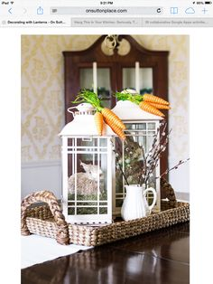 Decorate with a lantern