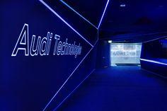 The power of four. Audi Messeauftritt auf der IAA 2015. on Behance