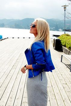 Martine Rødland Egeland - Blue Jacket