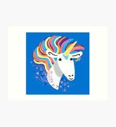 completely love this unicorn Art Print