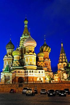 St Basils Cathedral near Kremlin in Moscow