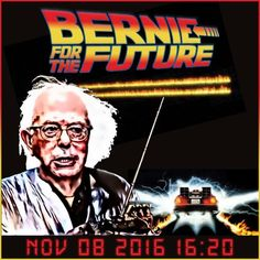 Internet Poster for Bernie Sanders, candidate for the Democratic Party's presidential nomination in 2016.