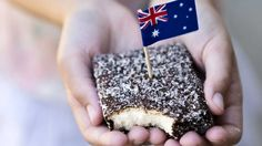 Get patriotic without the extra calories. These fluffy lamingtons are coated in rich, sugar-free chocolate, courtesy of wellness coach Hayley Cavicchiolo. Tim Tam, Square Cake Pans, Square Cakes, Sugar Free Chocolate, Melting Chocolate, Hot Chocolate, Dairy Free Recipes, Baking Recipes, Lamingtons Recipe