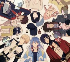 Characters - DRAMAtical Murder ~ DarksideAnime