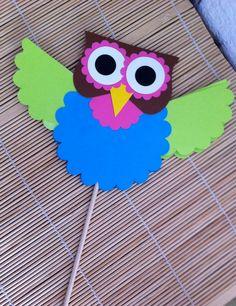 Hooty Owl Decoration by kreativekelors on Etsy. $2.50, via Etsy.