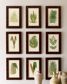 Take different shaped leaves and dip in paint or tape down a shape and paint the rest of the sheet...either way!