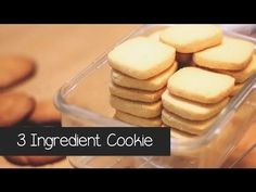These brilliant cookies are taking the internet by storm: 3 ingredients and ready in no time - Skinny Points Recipes 13 Desserts, Cookie Desserts, Delicious Desserts, Dessert Recipes, Easy Cookie Recipes, Sweet Recipes, Baking Recipes, Yummy Cookies, Sugar Cookies