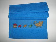 asciugamano gatto e topini