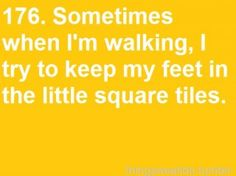 Is this strange? Because I kind of do this...sometimes...:P