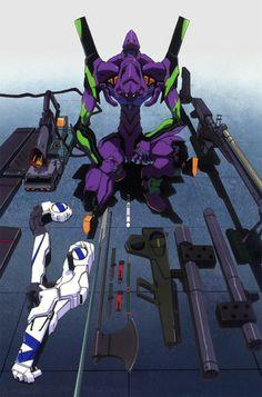 Eva-01 wepons