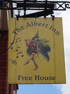 Pub Sign Art a la cARTe: The Albert Inn - Bristol