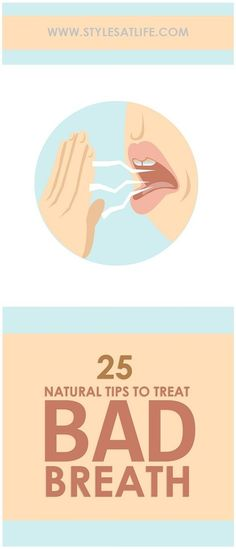 Bad breath problem keeps you away from public. Here are 25 best home remedies for bad breath which are very simple to follow and has side effects with low cost.