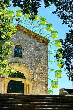 Iglesia de Santa Susana en la Alameda #SantiagodeCompostela #Saint-Jacques de Compostelle, Galice, Galicia, Espagne, Spain.