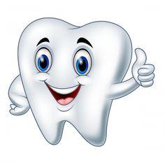 Teeth Images, Tooth Cartoon, Dental Posters, Dental Art, Medical Symbols, Dental Humor, First Tooth, Dental Health, Art Journal Pages