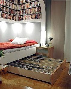 Por si necesitan un lugar dónde guardar todos los libros