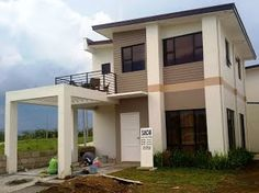 Philippines Affordable House and Lot For Sale - Mango grove house & Lot Batangas, Lots For Sale, All I Ever Wanted, Affordable Housing, House Front, Condominium, Merida, Contemporary Architecture, Home Projects