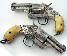 lady pistols and #scrimshaw