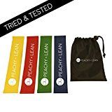 Best Resistance Bands | Set Of 4 Premium Loop Exercise Bands by Peachy & Lean | Perfect For Fitness, Workouts, Yoga, Pilates and Injury Rehabilitation | For Women And Men | 100% Natural Latex | With Handy Carry Pouch - https://www.trolleytrends.com/?p=670034
