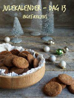 INGEFÆRKJEKS Feta, Nom Nom, Stuffed Mushrooms, Food And Drink, Cupcakes, Cheese, Cookies, Baking, Vegetables