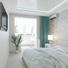 Farmhouse french bedroom interior design 55 ideas for 2019 Living Room Decor, Bedroom Decor, Bedroom Ideas, Design Bedroom, Living Rooms, Bedroom Curtains, Bath Design, Bedroom Layouts, Suites