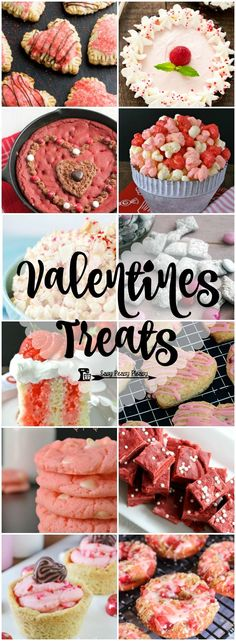 12 Easy Valentine Treats to share the love on Valentine's Day!