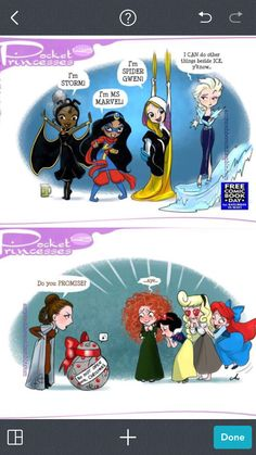 The princesses! #Disney