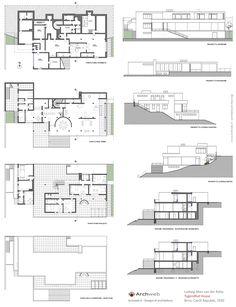 2D : Villa Tugendhat, Brno, Czech Republic | Ludwig Mies van der Rohe | Archweb