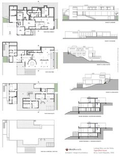 Tugendhat House 2D - Tugendhat dwg