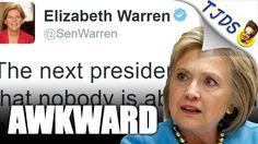 Elizabeth Warren's AWKWARD Tweet Might Upset Hillary