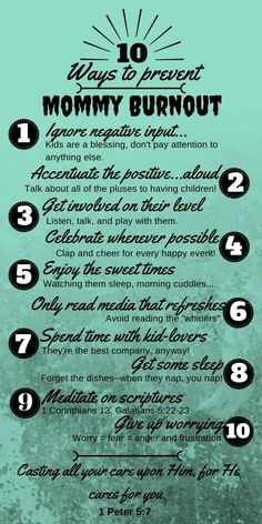 Great reminders