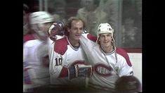 1984 Sabres at the Montreal Forum - Guy Lafleur scores his last goal in a Canadiens uniform at of the period vs. goalie Bob Sauve (the nex. Scores, Montreal, Hockey, Goals, Baseball Cards, Canadian Horse, Field Hockey, Ice Hockey