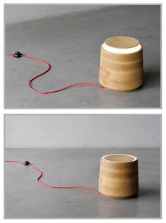 Jar Lamp by Noon Studio