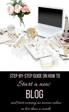 Starting a blog is a massive step towards your financial independence. You may think you don't have the needed skills and expertise to start a blog and make money online, but you are wrong! I just started a blog less than a month ago and if I could do it, so can you! Read more for my guide on how to start a blog and make money online in 2018! How to start a blog and make money ideas.