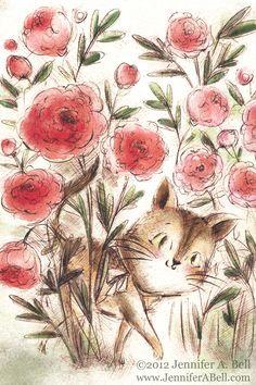 ilustración de Jennifer A. Bell