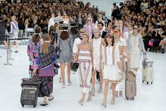 15 Things You Need to Know About the Chanel Airlines Show: It seems Karl Lagerfeld tries to one-up himself with every Chanel runway show he stages.