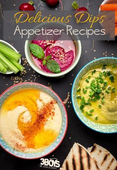 Delicious Dips Appetizer Recipes