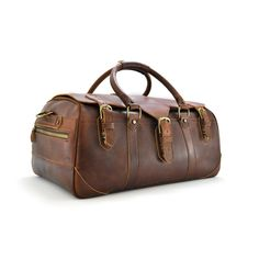 752c4b29d3a1 Rawlings AC100-202 American Handcrafted Leather Duffel Bag at RawlingsGear  - Rawlings Duffel Bags,