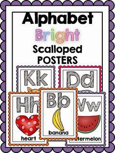 pre k alphabet posters on pinterest alphabet posters. Black Bedroom Furniture Sets. Home Design Ideas