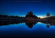 """Almourol"" Castle - Tejo, Portugal by Ricardo Bahuto Felix on 500px"