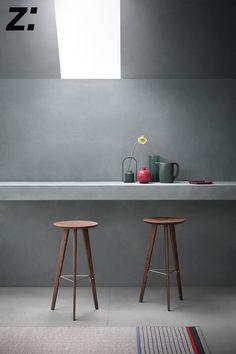 Sgabello | Stool IDO Frank Rettenbacher 2017 Lo sgabello in versione alta pensato dal designer Frank Rettenbacher per tutti i tipi di bancone.  The high stool model designed by Frank Rettenbacher for any sort of desks.