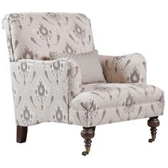 Hadley Arm Chair.  How wonderful for curling up in with a good book!
