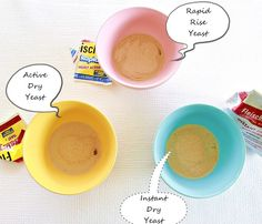 yeast tutorial - with step by step photos
