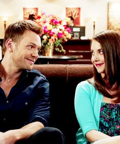 Jeff Winger and Annie Edison (Community).