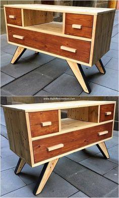 Use Pallet Wood Projects to Create Unique Home Decor Items Diy Pallet Projects, Wood Projects, Woodworking Projects, Wood Pallet Furniture, Diy Furniture, Pallet Seating, Shelving Design, Pallet Creations, Idee Diy
